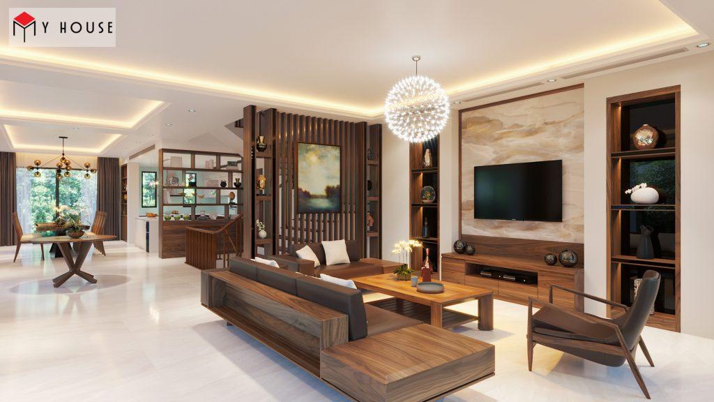 Thiết kế nội thất biệt thự Vinhomes Riveside 17