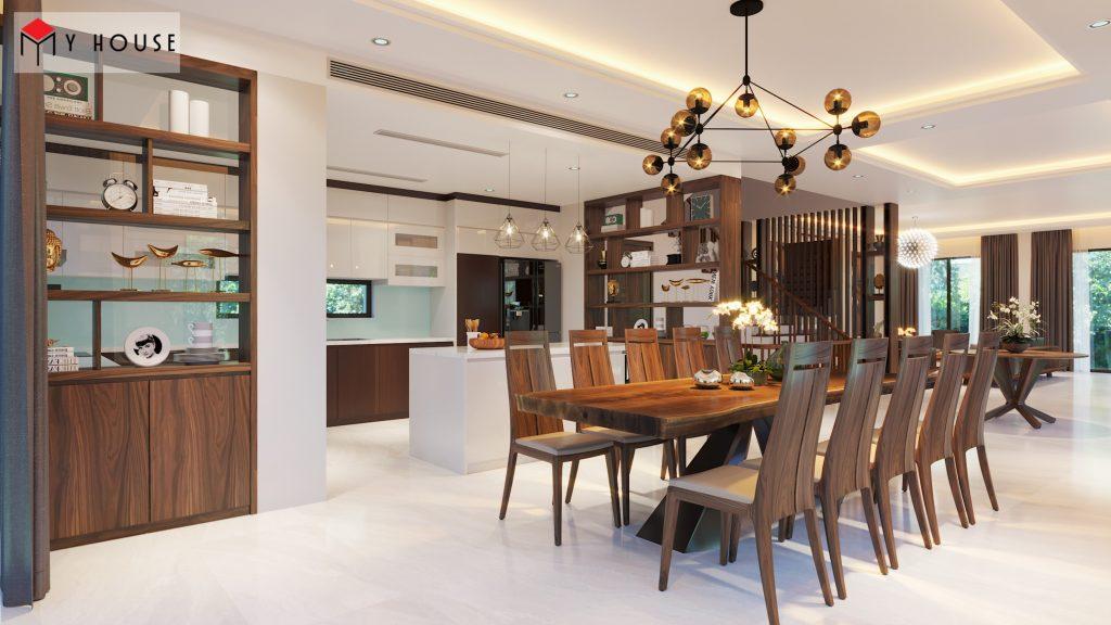 Thiết kế nội thất biệt thự Vinhomes Riveside 18