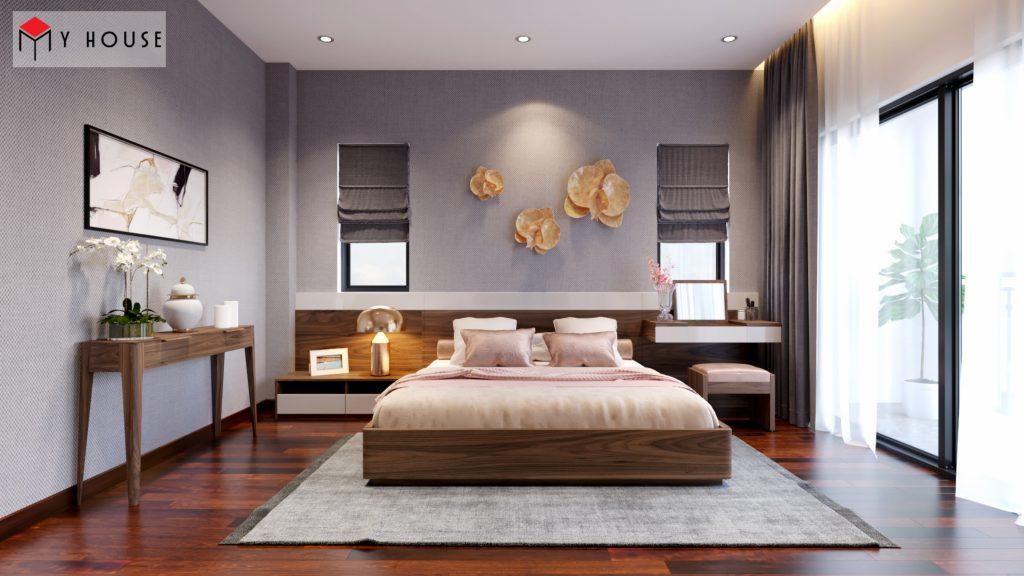 Thiết kế nội thất biệt thự Vinhomes Riveside 19
