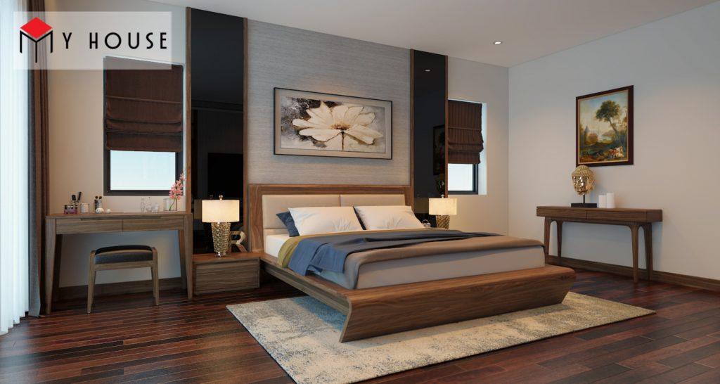 Thiết kế nội thất biệt thự Vinhomes Riveside 25