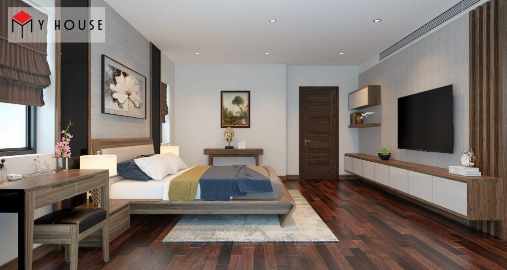 Thiết kế nội thất biệt thự Vinhomes Riveside 27