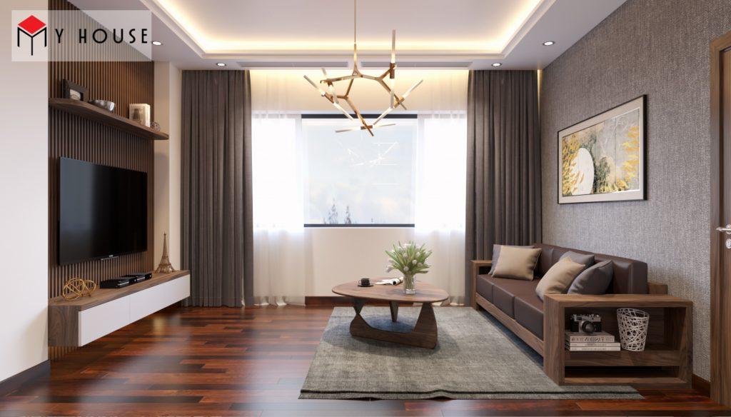 Thiết kế nội thất biệt thự Vinhomes Riveside 29