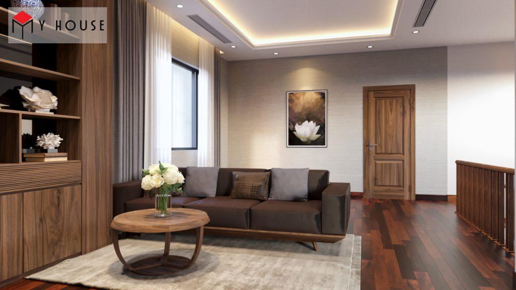 Thiết kế nội thất biệt thự Vinhomes Riveside 30