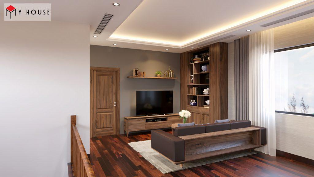 Thiết kế nội thất biệt thự Vinhomes Riveside 31