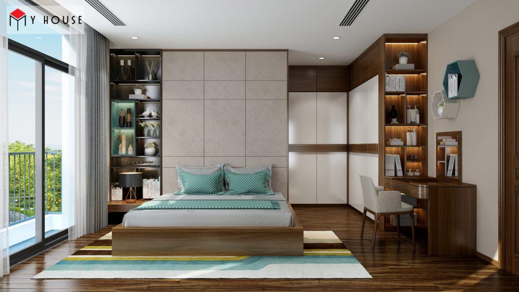 Thiết kế nội thất phòng ngủ bé biệt thự hiện đại cao cấp