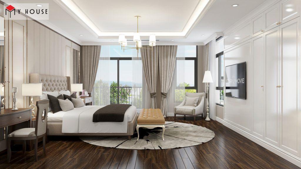 Bảng kê chi phí đồ dùng nội thất phòng ngủ trọn gói