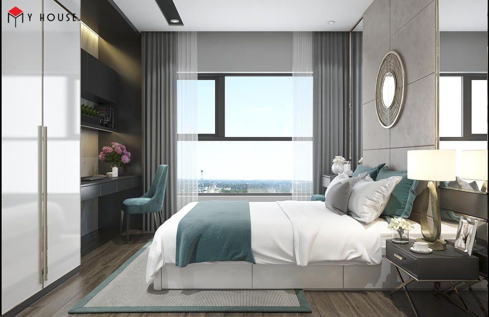 Phong cách nội thất cho phòng ngủ hiện đại - giản đơn
