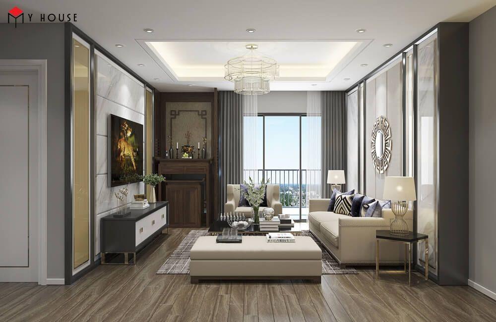 Thiết kế nội thất chung cư phong cách hiện đại, sang trọng