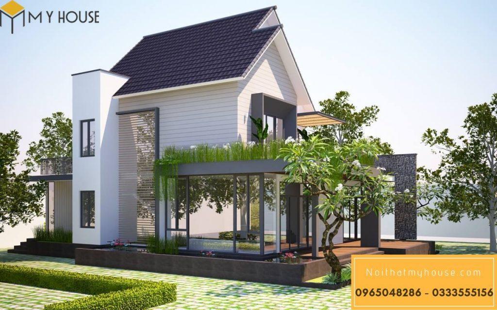 Thiết kế nội thất biệt thự nhà vườn 29