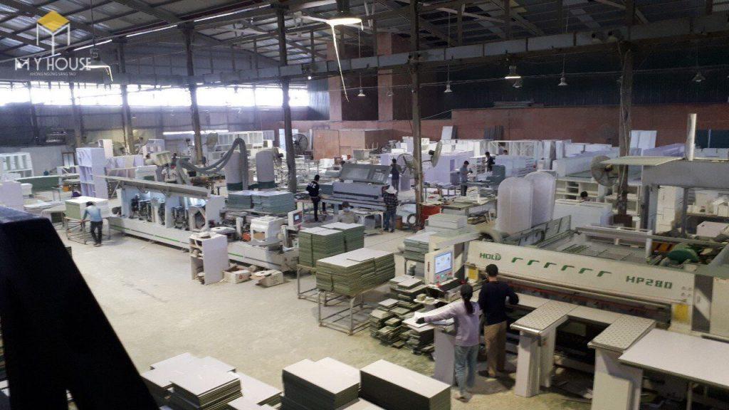 Quy mô nhà máy sản xuất nội thất My House - View 1