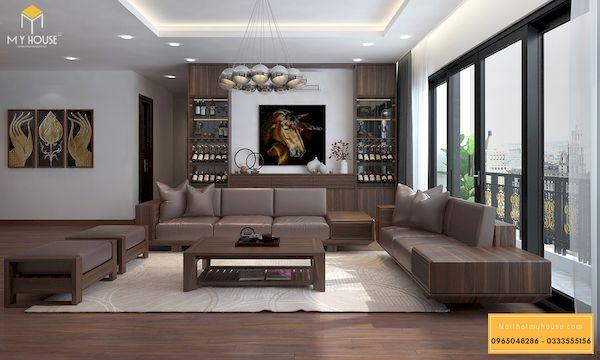 Mẫu tủ rượu âm tường - Hình ảnh 5