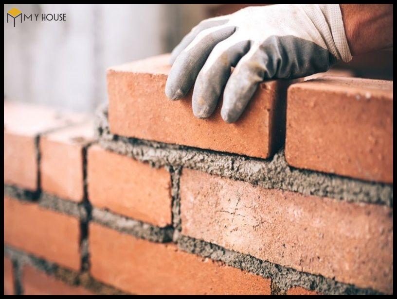 1m3 tường xây cần bao nhiêu vật liệu? 3