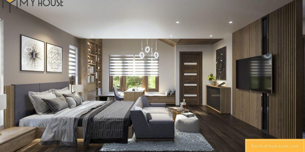 Phòng ngủ là không gian nghỉ ngơi trong ngôi nhà của bạn