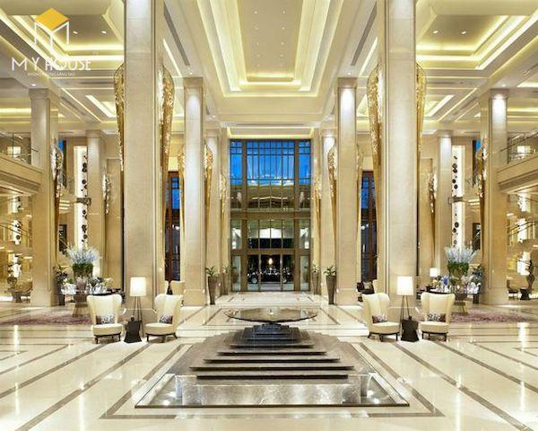 Sảnh khách sạn đẹp - Mẫu 6