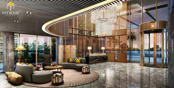 Sảnh khách sạn đẹp - Mẫu 8