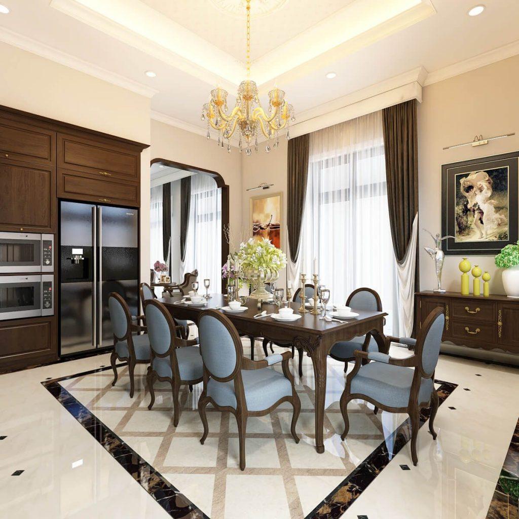 Nội thất phòng bếp - Bàn ăn tinh tế - View 4