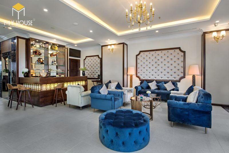 Nội thất quầy lễ tân khách sạn - View 1