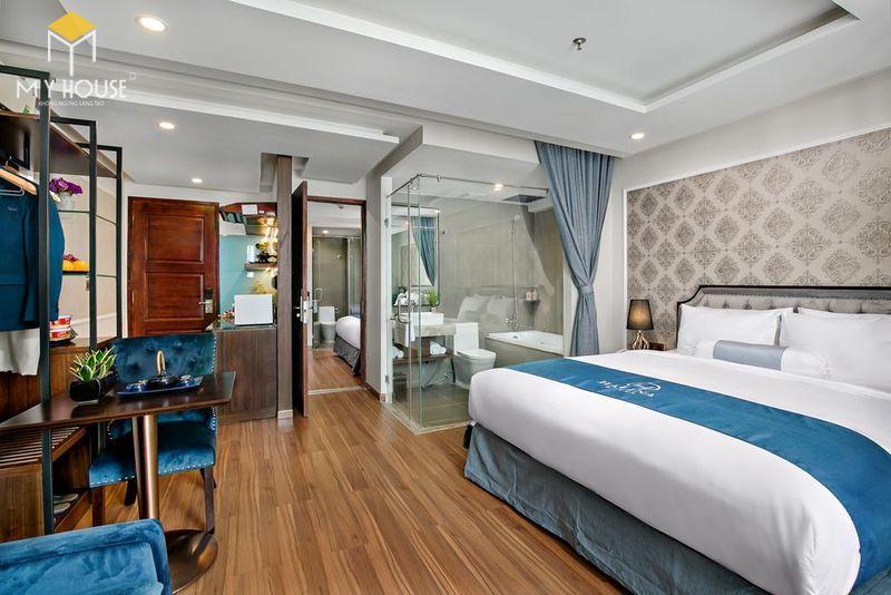 Phòng ngủ khách sạn 5 sao sang trọng - View 1