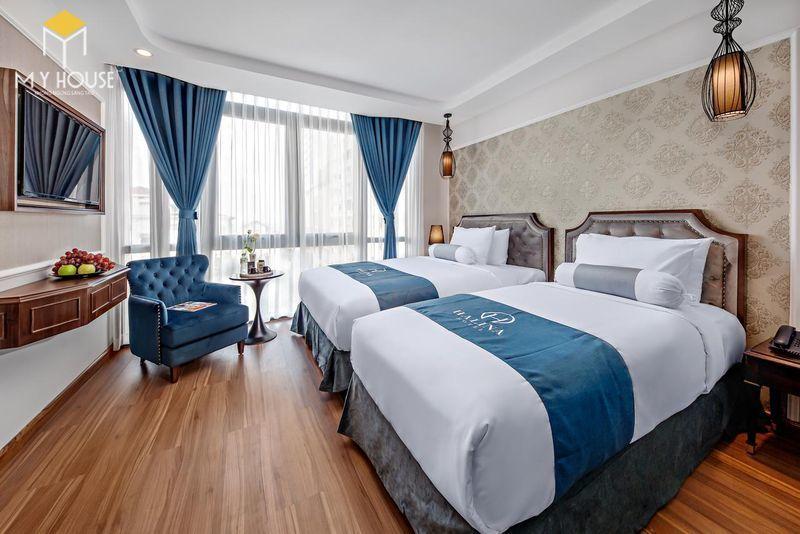 Phòng ngủ khách sạn 5 sao sang trọng - View 2