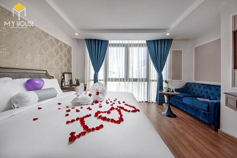 Phòng ngủ khách sạn 5 sao sang trọng - View 4