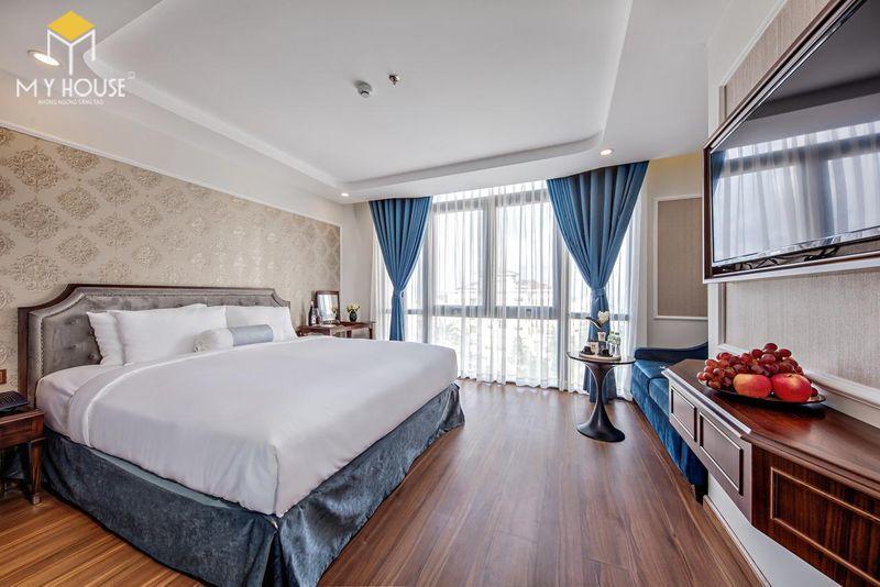Phòng ngủ khách sạn 5 sao sang trọng - View 5