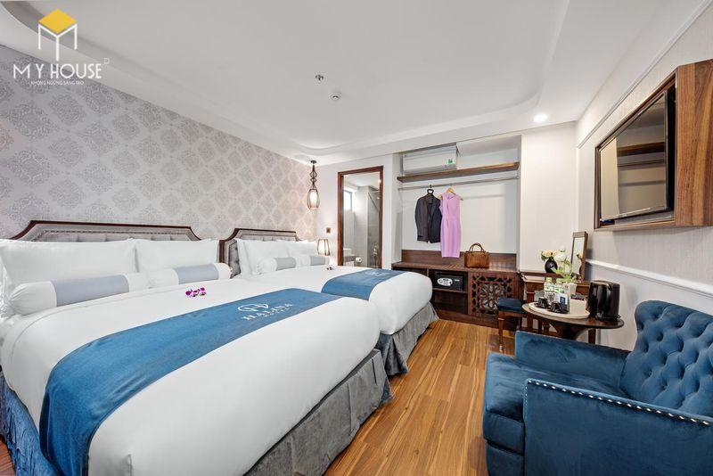 Phòng ngủ khách sạn 5 sao sang trọng - View 7