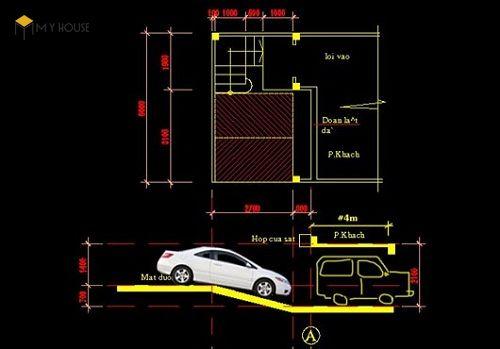 Tiêu chuẩn thiết kế tầng hầm để xe 4