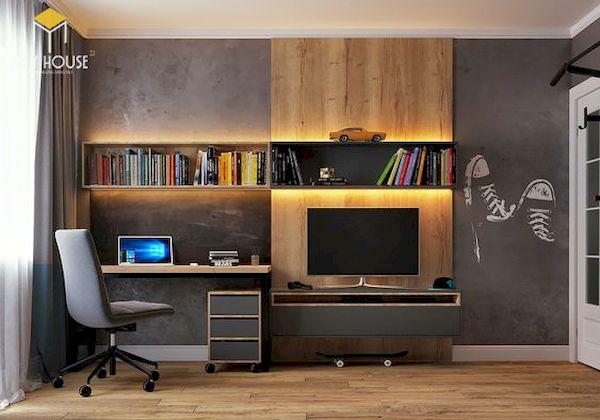 Nội thất phòng làm việc tại nhà - Hình ảnh 10