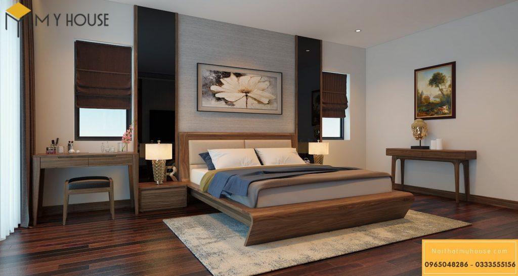 Giường ngủ bằng gỗ óc chó có bền không