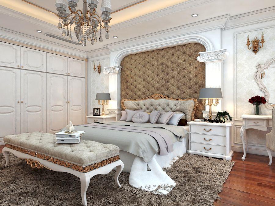 Phòng ngủ đường nét sang trọng