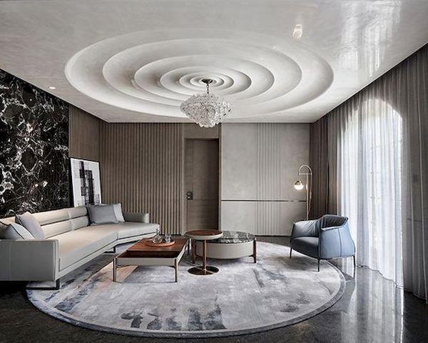 Phòng khách hiện đại - Mẫu 23