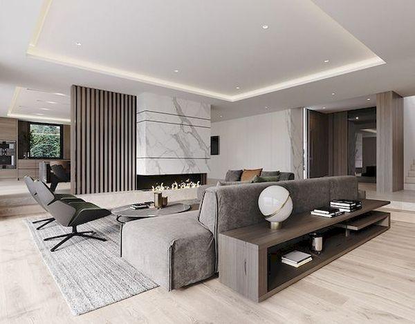 Phòng khách hiện đại - Mẫu 22