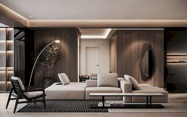Phòng khách hiện đại - Mẫu 20