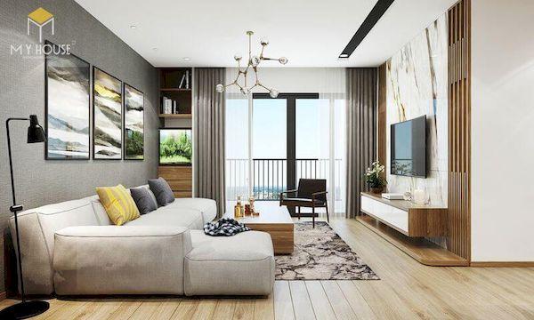 Phòng khách hiện đại - Mẫu 10