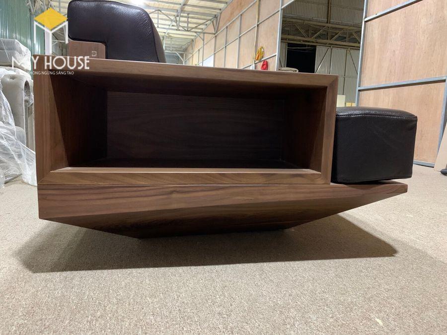 Hình ảnh sofa gỗ óc chó tại nhà máy sản xuất nội thất My House - View 2