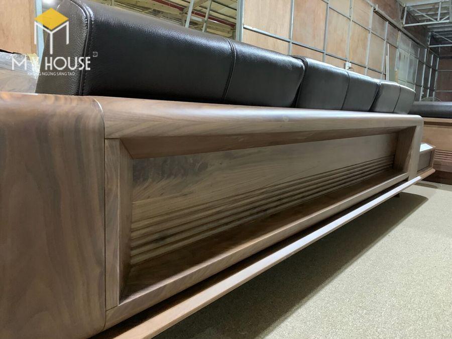Hình ảnh sofa gỗ óc chó tại nhà máy sản xuất nội thất My House - View 5