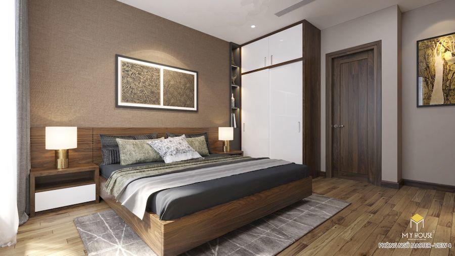 Nội thất phòng ngủ Master - Góc view 1