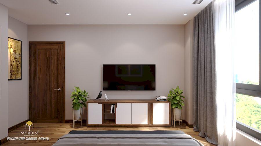 Nội thất phòng ngủ Master - Góc view 2
