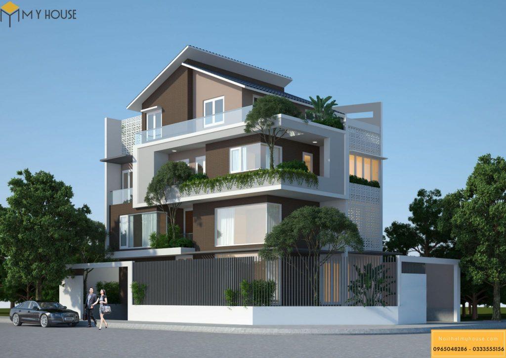 Thiết kế nội thất biệt thự tại Nghệ An 32