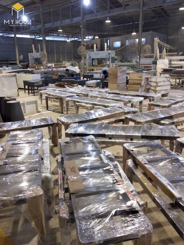 Đóng gói sản phẩm - kiểm tra và vận chuyển tới công trình