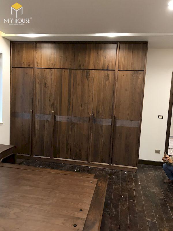 Hình ảnh thi công lắp đặt nội thất tại công trình - Hình 5