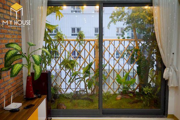 Mẫu trang trí ban công chung cư đẹp - Hình ảnh 11