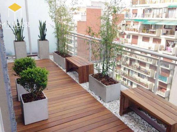 Mẫu trang trí ban công chung cư đẹp - Hình ảnh 3