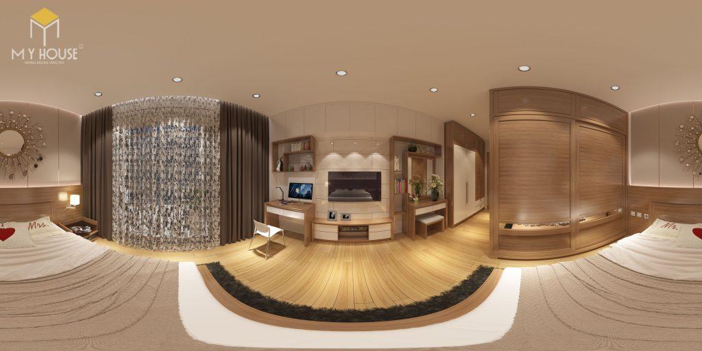 Nội thất phòng ngủ master - View 2