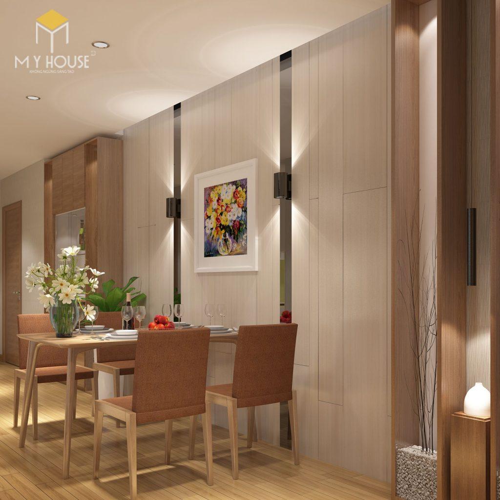 Không gian phòng ăn nhỏ gọn phù hợp với gia đình trẻ - View 1