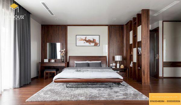 Phòng ngủ nhà liền kề 138B Giảng Võ, Ba Đình, Hà Nội