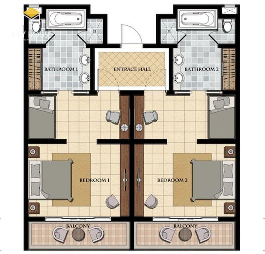 Sắp xếp nội thất tạo được không gian an toàn