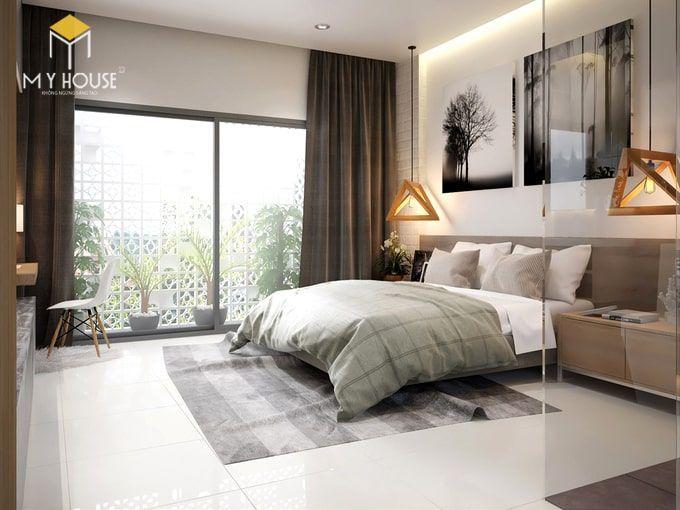 Phòng ngủ thiết kế đơn giản tinh tế - View 2
