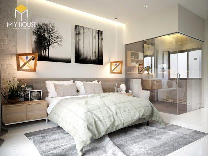 Phòng ngủ thiết kế đơn giản tinh tế - View 1