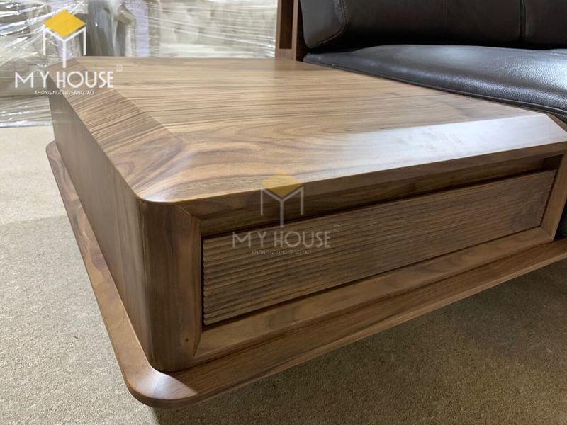 Sofa gỗ óc chó - Hình chụp tại xưởng 5